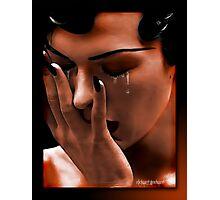 The Tears Photographic Print
