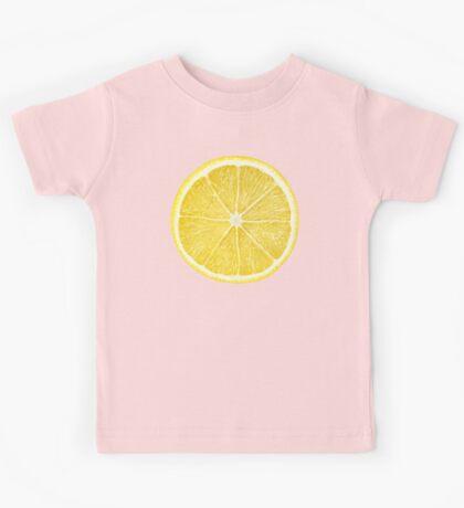 Slice of lemon Kids Tee