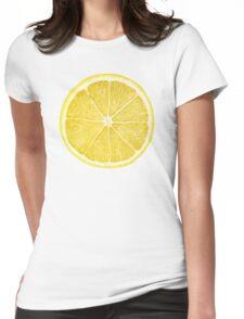 Slice of lemon Womens Fitted T-Shirt