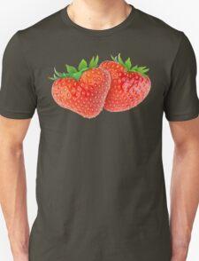 Pair of heart-shaped strawberries T-Shirt