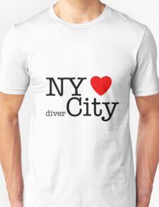 NY hearts divercity T-Shirt
