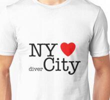 NY hearts divercity Unisex T-Shirt