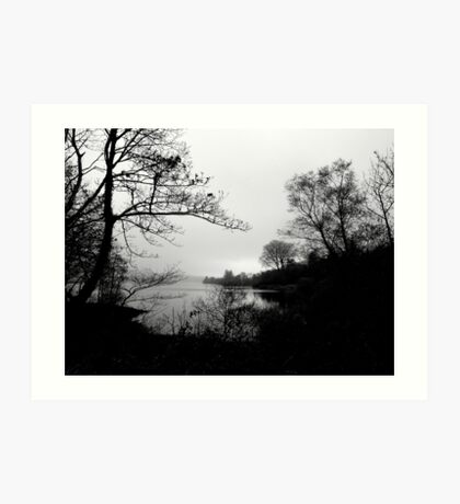 The Tranquility Of Lake Gartan Art Print