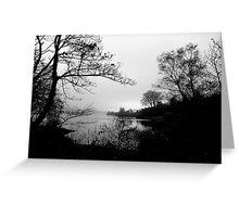 The Tranquility Of Lake Gartan Greeting Card