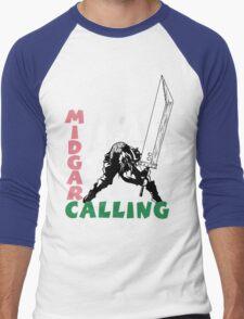Midgar Calling Men's Baseball ¾ T-Shirt