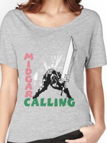 Midgar Calling Women's Relaxed Fit T-Shirt