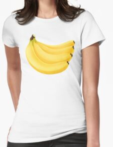 Bunch of banana Womens Fitted T-Shirt