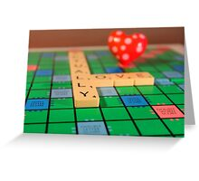Lucky Tiles Greeting Card