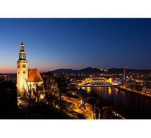 Müllner Kirche, Salzburg, Austria Photographic Print