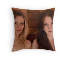 Annabel and Kate Throw Pillow