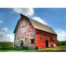 Suzie's Barn Photographic Print