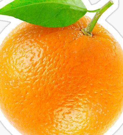 Fresh orange Sticker