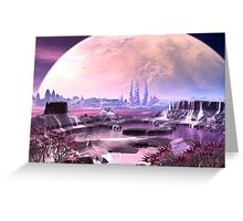 Beyond Earth Greeting Card