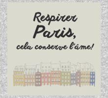 Respirer Paris One Piece - Short Sleeve