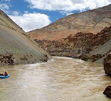 Rafting on the Zanskar River by SerenaB