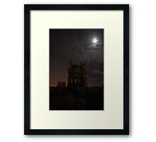 Helmsley Castle at Night Framed Print