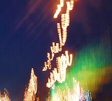 Distorted Car Lights by Mikaela Malanga
