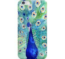 Peacock In Bloom iPhone Case/Skin