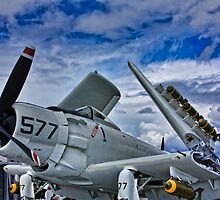 USS Midway Plane by KRphotog
