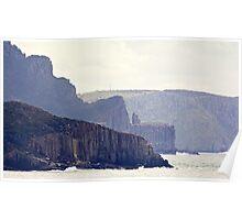 TASMAN PENINSULA ~ Close-up of Cliffs by tasmanianartist Poster