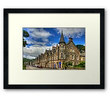 Birnam High Street Framed Print