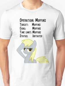Derpy's Operation: Muffins T-Shirt