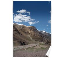 Scenery in the Spiti Valley Poster