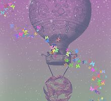 Up, Up and Away by paix