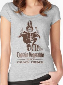Captain Vegetable Women's Fitted Scoop T-Shirt