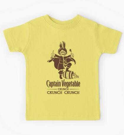 Captain Vegetable Kids Tee