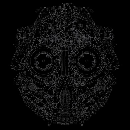 Robot Skull by thedailyrobot