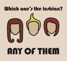 Which One's The Lesbian? by jezkemp