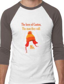 The Hero of Canton Men's Baseball ¾ T-Shirt