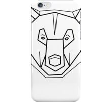 Bear geometry iPhone Case/Skin