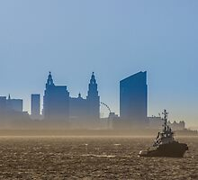 Misty Mersey Morning by Paul Madden