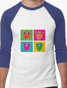 Colorful Minions Men's Baseball ¾ T-Shirt