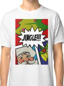 Pop Art Jingle Bells Classic T-Shirt