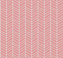 Chevron Pink by BlueLela