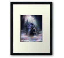 Raccoon Spirit Framed Print