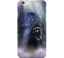 Raccoon Spirit iPhone Case/Skin