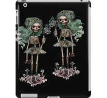 Firebug skeleton girls iPad Case/Skin