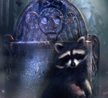 Raccoon Spirit Sticker