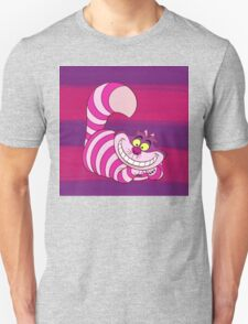 Cheshire Cat Stripe - Alice in Wonderland T-Shirt