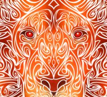Tribal Lion Sticker