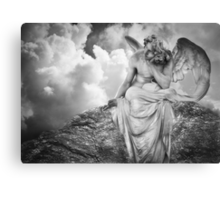 Dreaming Angel Canvas Print