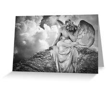 Dreaming Angel Greeting Card