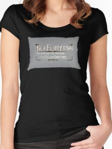 New Fluffytown Women's Fitted Scoop T-Shirt