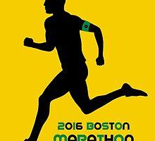 2016 Boston Marathon by Draw2LUV
