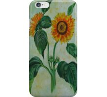 Vintage Sunflowers  iPhone Case/Skin