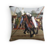 Flying Horse Throw Pillow